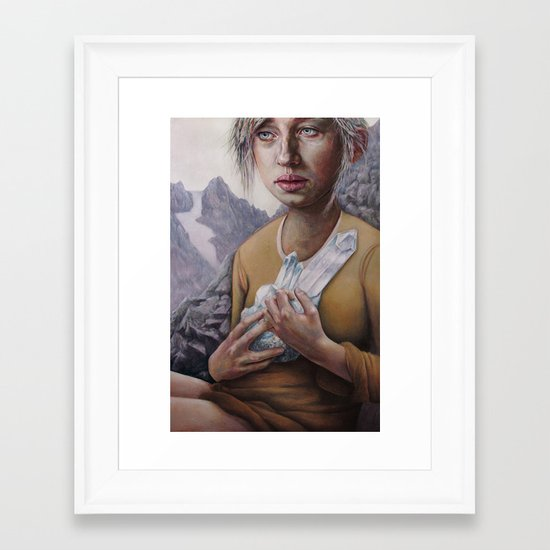 The Death of Crystallina Framed Art Print