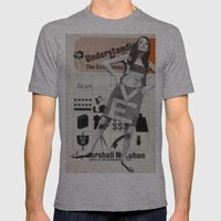 LOVE + Understanding  Mens Fitted Tee Athletic Grey SMALL