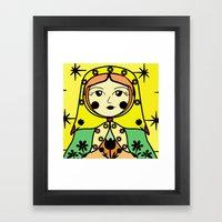 Matryoshka Russian Doll … Framed Art Print