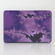 Purple Explosion iPad Case