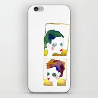 no name but a frame iPhone & iPod Skin