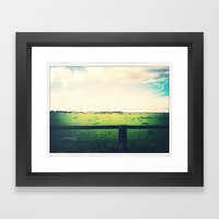 Farm Framed Art Print
