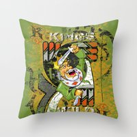 KINGS Throw Pillow