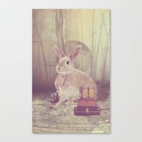 Fairy tale : rabbit Canvas Print