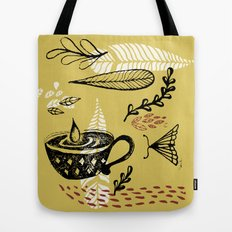 the cup and the moth Tote Bag