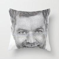 Joshua Jackson ~ Peter B… Throw Pillow