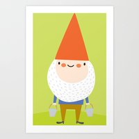 mr. gnomey pants Art Print