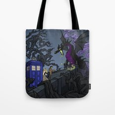 And Now You Will Deal with ME, O' Doctor Tote Bag