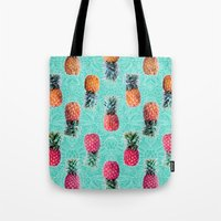 From Pineapple To Pink -… Tote Bag