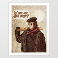 Psycho Killer Art Print