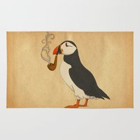 Puffin' Rug