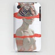 TIGER GIRL iPhone (3g, 3gs) Slim Case