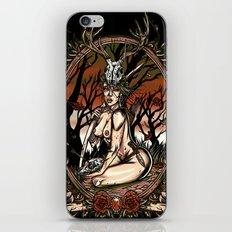 The Huntress iPhone & iPod Skin