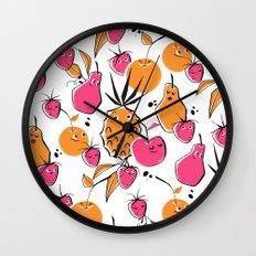 Fruit Punch  Wall Clock
