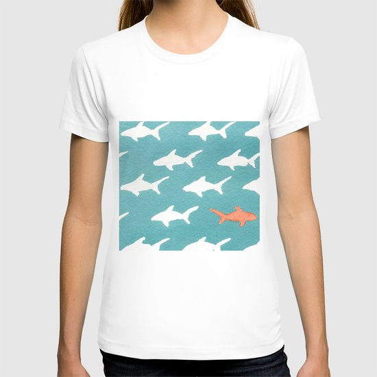 Splashy Sharks T-shirt