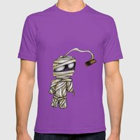 Bobby Mummy Mens Fitted Tee Ultraviolet SMALL