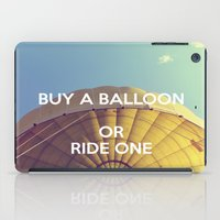 Buy A Balloon iPad Case