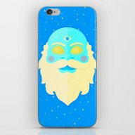 Santa Cosmos iPhone & iPod Skin