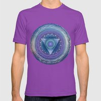 Ajna Third Eye Chakra Mens Fitted Tee Ultraviolet SMALL
