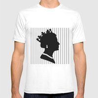 Queenie 22 Mens Fitted Tee White SMALL