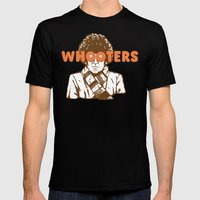 Whooters Mens Fitted Tee Black SMALL