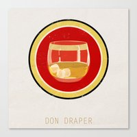 Don Draper Canvas Print