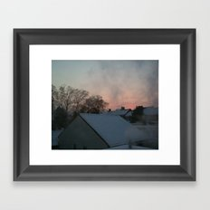 Winter Times Framed Art Print
