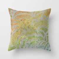Drawing Meditation: Sten… Throw Pillow