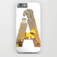iPhone & iPod Case featuring A as Archaeologist by Anastassia Elias