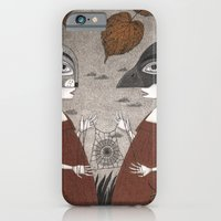 iPhone & iPod Case featuring Ana and Eva (An All Hallows' Eve Tale) by Judith Clay
