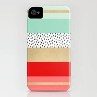 iPhone 4s & iPhone 4 Cases featuring Summer Fresh by Elisabeth Fredriksson