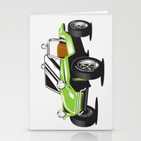 VW Dune Buggy Stationery Cards