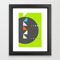 Spot Slice 03 Framed Art Print