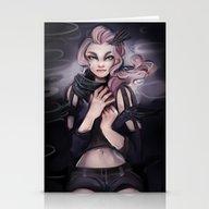 Stationery Cards featuring Dark Shades by Cyarin