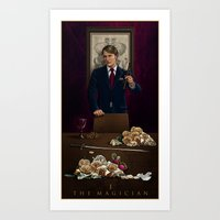 I. The Magician Art Print