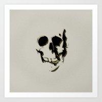 skull #06 Art Print
