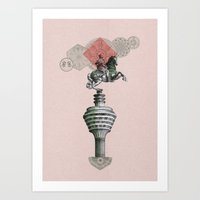Banknotes In Balance 2 Art Print