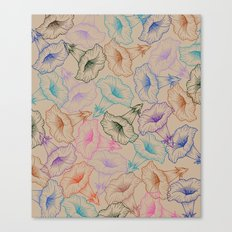 floral pattern 1 Canvas Print