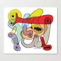 TINY CREATURES Canvas Print