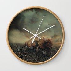 Besetting sin of progress Wall Clock