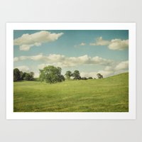 Rural Summer Art Print