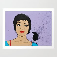 i like you but i'm not in like with you... Art Print