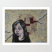 Japan, March 2011 Art Print