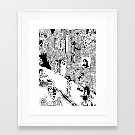 Love St.  Framed Art Print