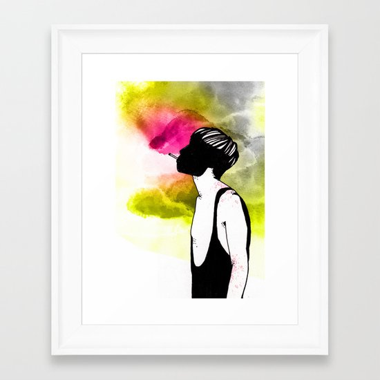 Young Liars 1 Framed Art Print