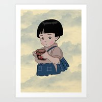 Grave Of The Fireflies (… Art Print