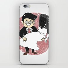 Geek in Love iPhone & iPod Skin