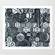 Math Class Art Print