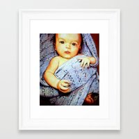 Riley Framed Art Print