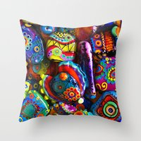 GlassART By Me Throw Pillow